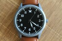 Altitude Flieger Pilot Watch - Leather Travel Pouch