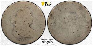 1805 DRAPED BUST QUARTER 25C PCGS CERTIFIED GENUINE P / FR FAIR DETAIL (380)