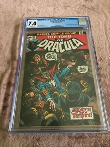 Tomb of Dracula #13 (CGC 7.0)