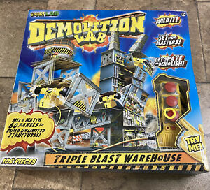 SmartLab Demolition Lab Triple Blast Warehouse Construction Building Kit NEW
