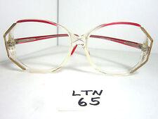 Vtg Nos 1980s GEOFFREY BEENE Sun Eyeglass Frame GB114 Pink Purple Gold (LTN-65)