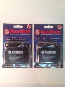 MouseBlocker 2 Pack - 12V Under Hood Mouse and rodent deterrents