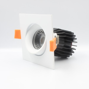Adjustable Square 95mm Gimbal Downlight - C-Bus Dimming Compatible