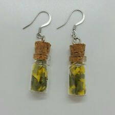 twenty one pilots trees trench mini glass jar earrings with concert confetti!