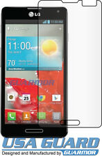 2x Clear LCD Screen Protector US Cellular Boost Mobile LG Optimus F7 LG870 US870