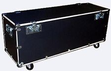 """Stands & Utility Trunk Road Case 1/2"""" PLY CASE KIT w/Bare Wood Edges Medium Size"""