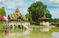 CARTE POSTALE ASIE THAILANDE BANG PA IN FORMER KING'S SUMMER PALACE