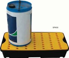 30 Ltr Sump Spill Tray. Removable surface grid. Oil Chemical Bunded Drip Pallet