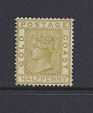 GOLD COAST 1876 1/2d SG 4 No gum