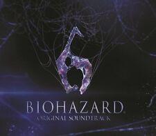 Biohazard 6 Resident Evil Original Soundtrack CD OST Japan