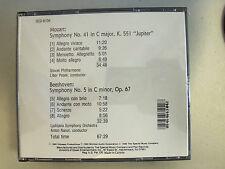Mozart Beethoven Saint Saens Brahms New 2 CD Set New