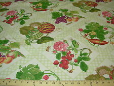 ~15 YDS~P KAUFMANN~DRAGONFLIES BUGS ANIMALS~COTTON UPHOLSTERY FABRIC FOR LESS~