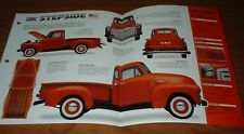 ★★1951 GMC FC-101 STEPSIDE ORIGINAL IMP BROCHURE 51 47 48 49 50-54 TRUCK PICK UP