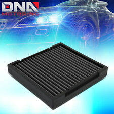 FOR 2009-2019 HONDA CIVIC/CRV/HRV/FIT/INSIGHT RECLEANABLE CABIN AIR FILTER BLACK