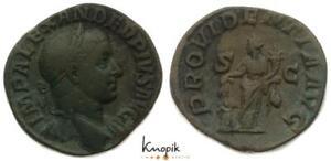 Römische Kaiserreich, Severus Alexander, AE-Sesterz 232-234, Rom, RIC 642, ss