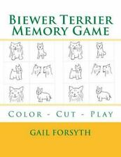 Biewer Terrier Memory Game : Color - Cut - Play by Gail Forsyth (2015,.