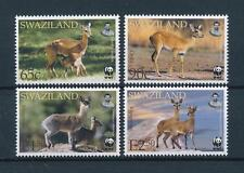[54004] Swaziland 2001 Wild animals Mammals Wwf Antelopes Mnh