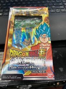 Dragon Ball Super DBS CCG Galactic Battle Special Pack Set SP01 Sealed New