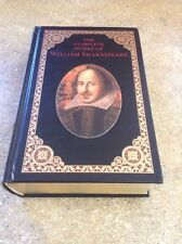The Complete Works of William Shakespeare Bonded Leather New Hardcover