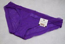 BNWT Calvin Klein icono de encaje Panty en púrpura-Tamaño Grande (R15)