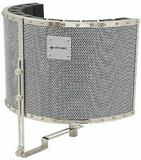 Citronic Arc Microphone Reflection Isolation Screen Vocal Booth Recording Studio