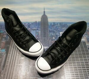 Converse Chuck Taylor All Star PC Boot High Top Black/White Size 12 162415c New
