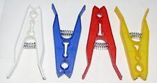 36 Clavijas de lavado de ropa de plástico Jumbo Línea Fuerte Clavijas Colorido