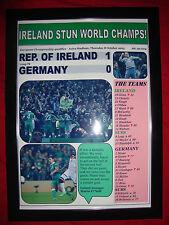 Republic of Ireland 1 Germany 0 - 2015 - Euro 2016 qualifier - framed print
