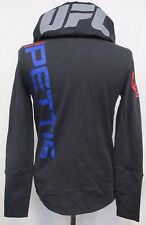 Anthony Pettis Women's 2XS, XS Official Walkout Hoodie UFC Reebok Black A9MRB