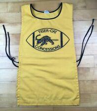 1970's-1980's HAMILTON TIGER-CATS Vintage CONCESSIONS Shirt / APRON CFL Football