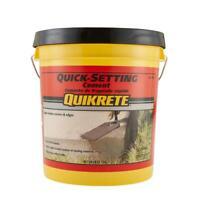 20 lb. Quick-Setting Cement Concrete Mix