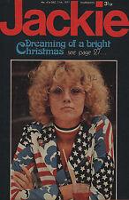 Jackie Magazine 11 December 1971 No.414   Cat Stevens   David Essex  Roger Moore