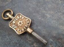 Scottish Advertising Pocket Watch Key - J.C. McLean of Dumfries , Scotland