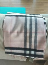 burberry cashmere scarf brand new, pink, free shipping