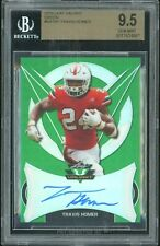 2018 Leaf Valiant Travis Homer RC Autograph Auto #/75 BGS 9.5/10 SEAHAWKS