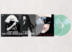Lady Gaga - 3 LP vinyl The Fame Monster UO limited Colored Htf Rare Artpop