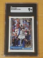 1992 Topps #362 Shaquille O'Neal SGC 9 Newly Graded RC Rookie PSA BGS