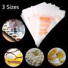 100pcs Plastic Disposable Pastry Bag Icing Piping Cake Cupcake Decorating Bags