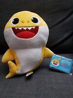 WowWee Pinkfong Baby Shark Singing  Plush (Yellow), English - Free Shipping!