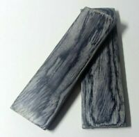 130mm Pair Black Pakka Wood Scales Knife Handle Making Blanks