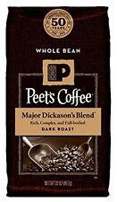 Peet's Coffee Major Dickason's Blend ~ Whole Bean ~ DARK ROAST 32 oz (907 g)