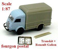 Renault Galion 2,5t fourgon postal (Base + transkit) - Norev - Echelle 1/87 - Ho