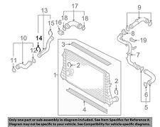 AUDI OEM Turbo Turbocharger Intercooler-Pressure Pipe Retainer Clip 1J0145769B