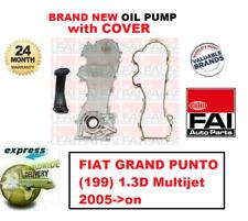 Pour Fiat Grand Punto (199) 1.3D Multijet 2005- > > Neuf Fai Huile Pompe +