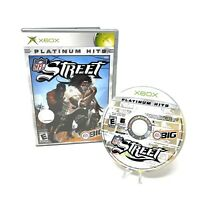NFL Street (Microsoft Xbox, 2004) In Box No Manual Tested Football