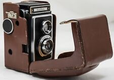 Zeiss Ikon Ikoflex 1 Film Medium Format TLR Camera c/w Original Leather Case