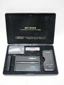 Vintage Panasonic RQ-S1D Portable Cassette player Box & Manual 70th Anniversary