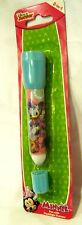 "Disney Minnie Mouse+Daisy Duck 5 3/4"" Flashlight and Ball Point Pen Combo-New!"