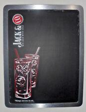 Cadre enseigne bar bistrot Plaque ARDOISE CRAIE  Bière JACK DANIEL'S 34/44cm