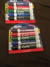 5 Pack Of Expo Intense Colors Chisel Tip Dry Erase Markers Low Odor 2